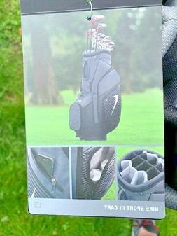 NIKE SPORT III  CART / PEPSI COLA GOLF BAG Golf Club Bag 14-