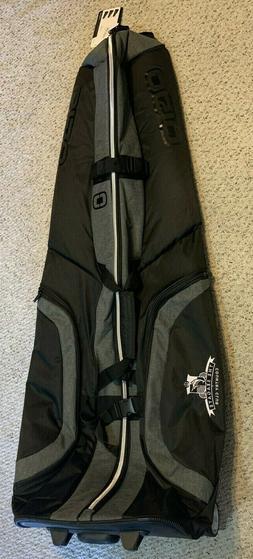 NWT Ogio Dark Static Mutant wheeled Golf Travel Bag Padded C