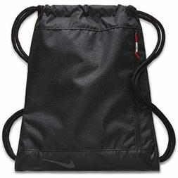 NWT Nike Golf GYM SACK CINCH BAG Soccer Fitness Travel BLACK