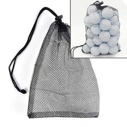 Nylon Mesh Nets Bag Pouch Golf Tennis Ball Carrying Holder S