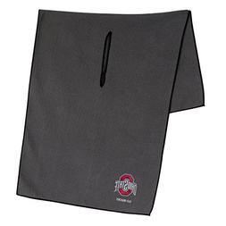 Ohio State Buckeyes Grey Microfiber Towel