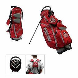 New Ohio State University Team Golf Buckeyes Stand Bag