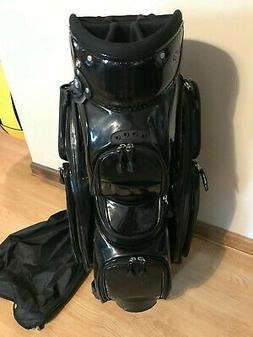 Hot Z Organizer 14 Divider Black Cart Golf Bag Putter Well