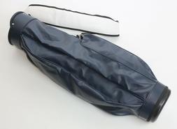 Original Jones Golf Bag Nighthawk Navy w/ White Strap Single