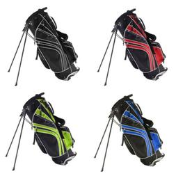 Outdoor Sport Golf Stand Cart Storage Bag with 6 Way Divider