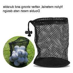 Outdoors Sports Mesh Net Bag Golf 25-50 Ball Carrying Drawst