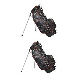 "OGIO Ozone 9.5"" Woode Top 7 Pocket + Ball Silo Golf Stand Ba"