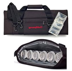 Caddyswag Par 6 Pack Golf Bag Cooler With Flexible Reusable