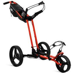 Sun Mountain Pathfinder 3 Push Cart Orange/Black