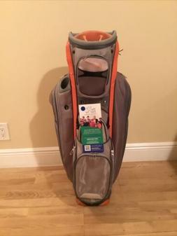 Nike Performance Cart Golf Bag with 14-way Dividers & Rain C