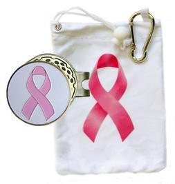 Pink Ribbon Tee Bag with Matching Tees and Pink Ribbon White