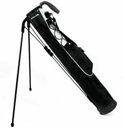 Orlimar Pitch and Putt Lightweight Stand/Carry Golf Bag, Bla