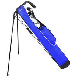 Knight Pitch and Putt Golf Lightweight Stand Carry Bag, Blue