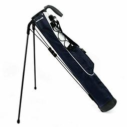 Orlimar Pitch & Putt Golf Lightweight Stand Carry Bag, Midni