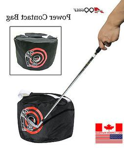 A99 Golf Power Impact Contact bag with Swing Training Aid, B