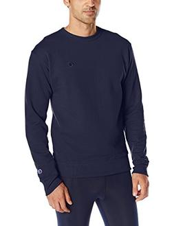 Champion Men's Powerblend Sweats Pullover Crew Navy XXL