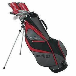 Wilson Profile XD Men's Left Handed Complete Golf Club Packa