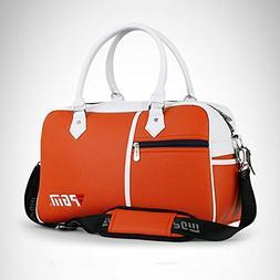PGM PU Golf Duffle Bag Golf Clothing Bag,Boston Bag---with S
