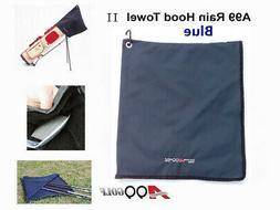A99 Golf Rain Hood Towel Waterproof Golf Bag Cover Black