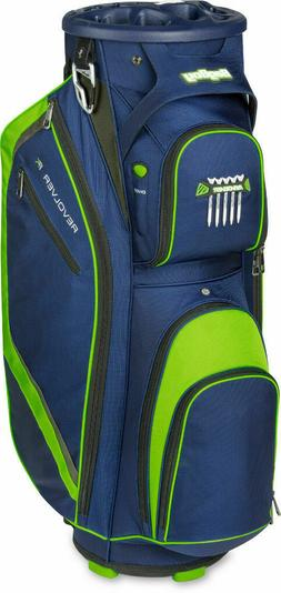 Bag Boy Revolver FX Cart Bag Navy/Lime/Silver - Brand New wi