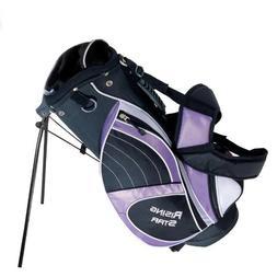 Paragon Rising Star Junior Kids Golf Stand Bag Lavender