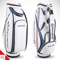 """TaylorMade Rookie Men's Golf Caddie Bag Cart-Authentic,9"""",5-"""