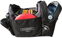 The Throwback Sack - Frisbee Disc Golf Bag with Cooler and E