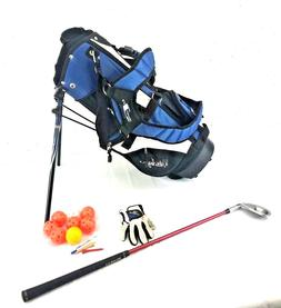 Walter Hagen Series Junior Golf Club Seven Iron With Bag and