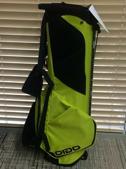 OGIO Shadow Fuse Golf Stand Bag, Glow Sulpher Green 4 way to