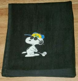 Snoopy Joe Cool Golf Bag Golf Towel 16x18