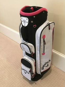 Callaway Solaire 6-way Cart Bag - Brand New - Pink White