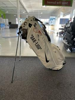 Nike Sport Lite Golf Bag Off White DIY With Zip Tie Stand Ba