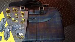 Mizuno Sports Bag - Golf, fitness, etc - Checkered Pattern -