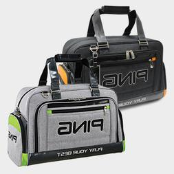 Ping Sporty CL Golf Boston Bag Black Gray Carry with shoulde
