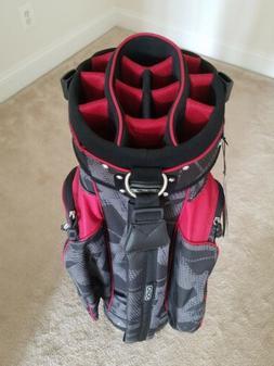 OGIO Spyke Golf Cart Bag, 15 Slot Uniter Club Management Sys