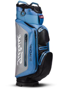 Titleist Stadry Deluxe Cart Golf Bag 14 Club Slots BAY/SILVE
