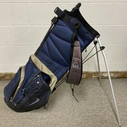 Nike Stand/Carry Golf Bag with 5-Way Dividers w/ Rain Cover