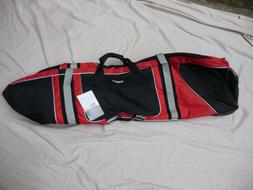 Ogio Straight Jacket Travel Golf Bag - Fire / Red