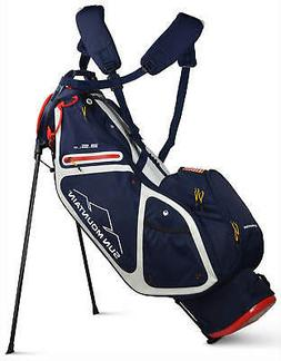 Sun Mountain 3.5 LS Stand Bag Golf Carry Bag Navy/White/Red