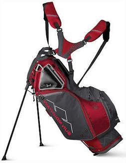 Sun Mountain Four 5 LS Supercharged Stand Bag Red/Steel 2019