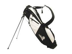PALM SPRINGS Sunday Golf Bag w/stand White/Black