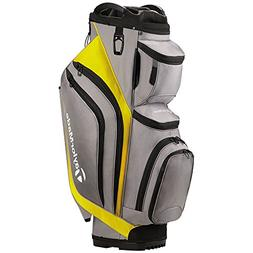 TaylorMade Supreme Cart Golf Bag Gray/Yellow