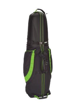 Bag Boy T-10 Hard Top Golf Travel Cover, Black/Lime Green