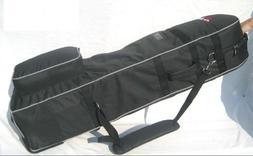 A99 T02 Golf Bag Travel Cover, Black