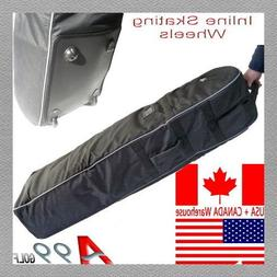 A99 Golf T07 Travel Bag Cover Tour Luggage Wheeled Carry Bla