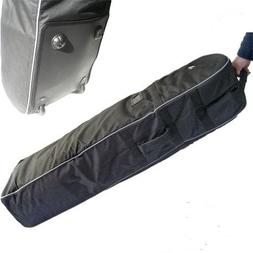 A99 T07 Golf Travel Bag Cover Wheel Rolling New Black With G