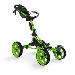NO TAX! New Clicgear 8.0 Model 8 LIME Four Wheel Golf Push C