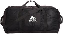 Adidas Team Carry Duffel Bag XL Black Athletic Sport Zip 35""