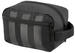 adidas Team Toiletry Kit Bag, Black, One Size
