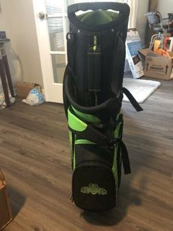 CALLAWAY TEQUILA PATRON GOLF STAND BAG 7 WAY DIVIDER GREEN ~